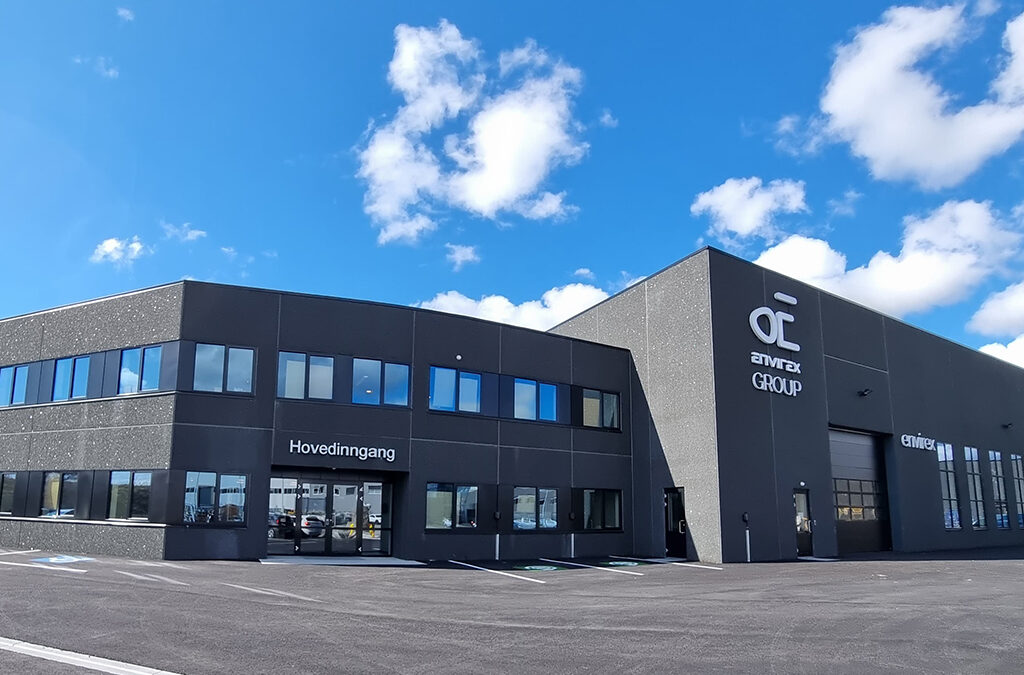 We have moved into a new and modern building in Bryne!